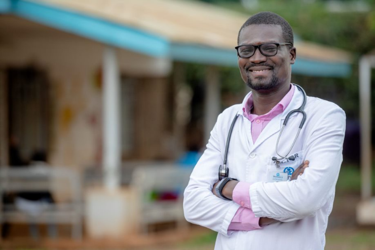 Felix Ombeng (34), Clinical Officer